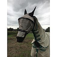 Rambo by Horseware Plus Flymask Vamoose Oatmeal Full