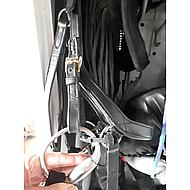 Rambo by Horseware Micklem Bit Straps Black Full