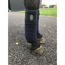 Harrys Horse Bandages Fleece Navy
