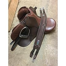 Bucas Connect Girth Brown