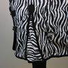 Horka Regendeken 600D Geruit Katoen Zebra