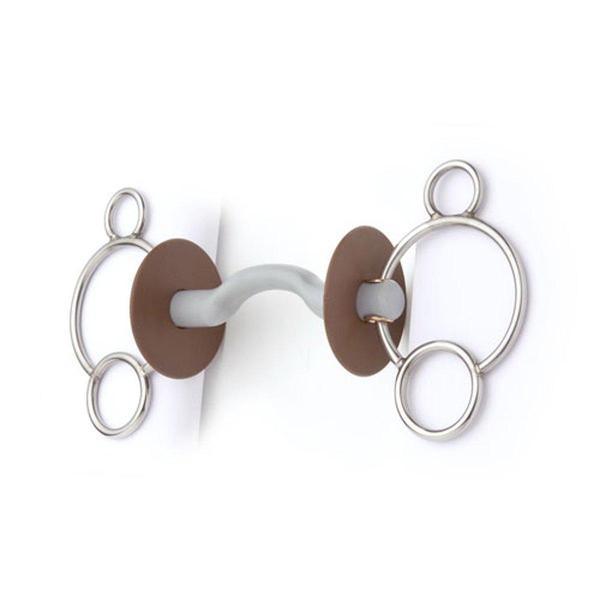 Afbeelding van Beris 3 ringenbit Stang/tongvrijheid 12cm Hard