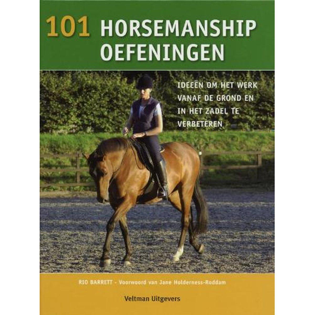 Afbeelding van 101 Horsemanship oefeningen