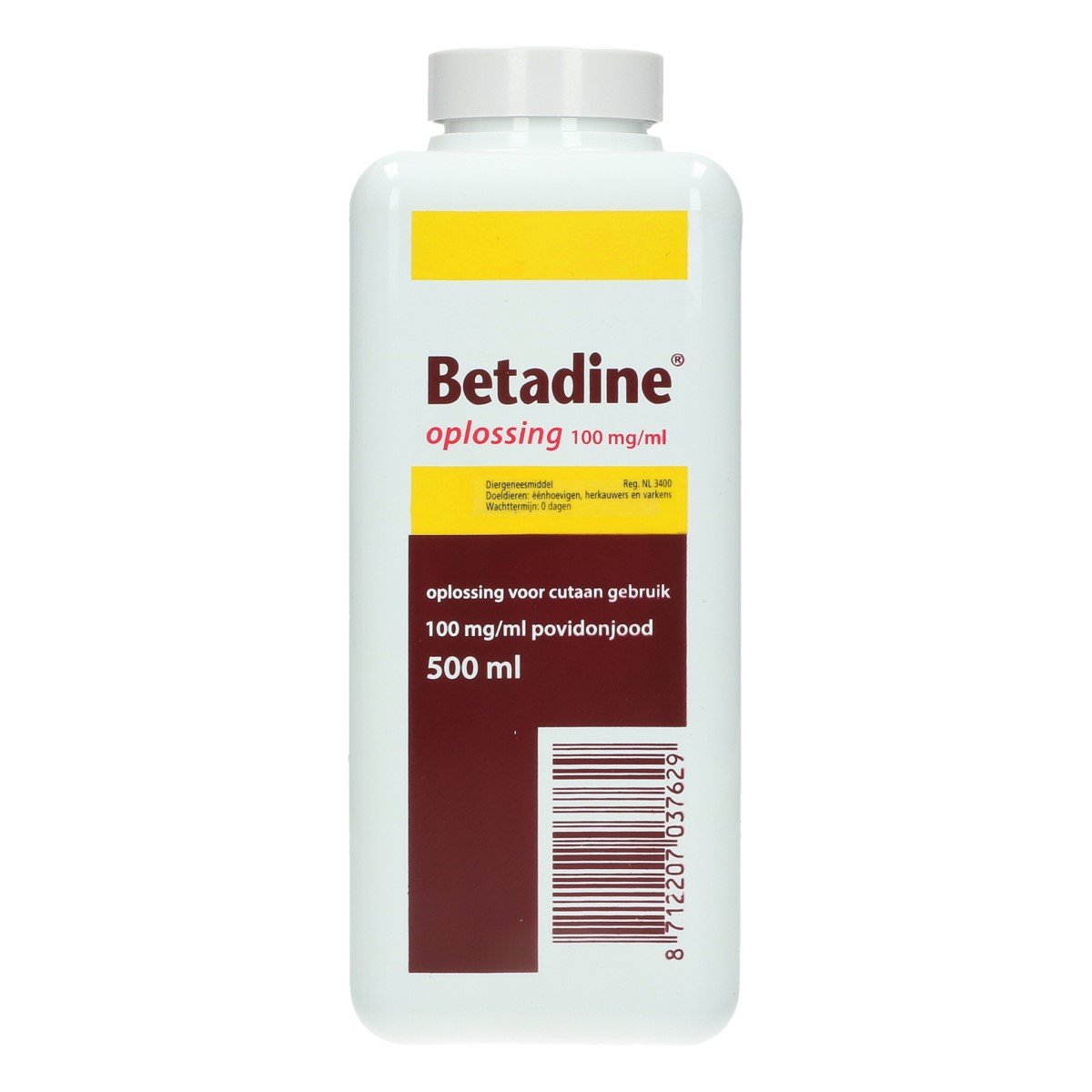 Afbeelding van Betadine Oplossing 500ml