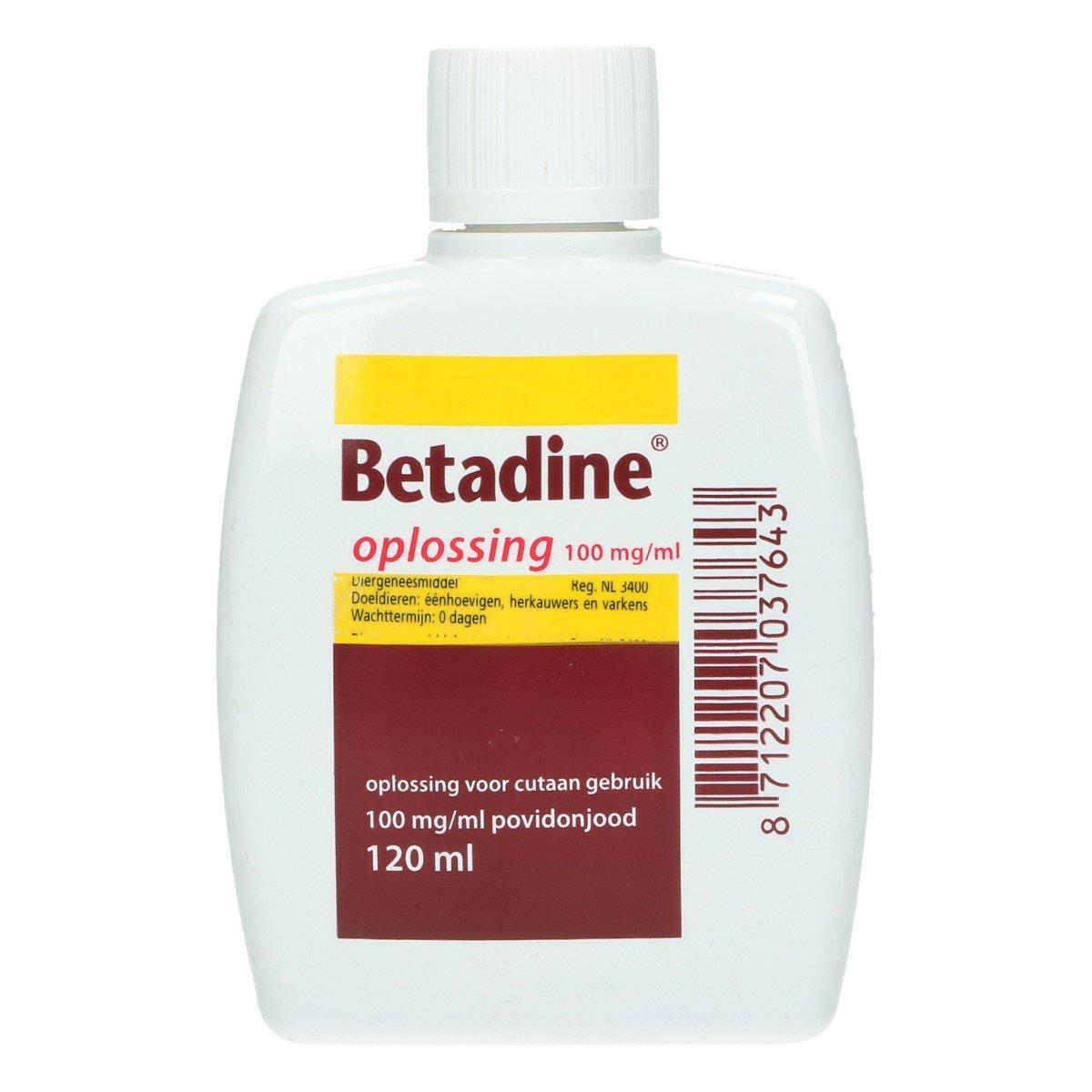 Afbeelding van Betadine Oplossing 120ml