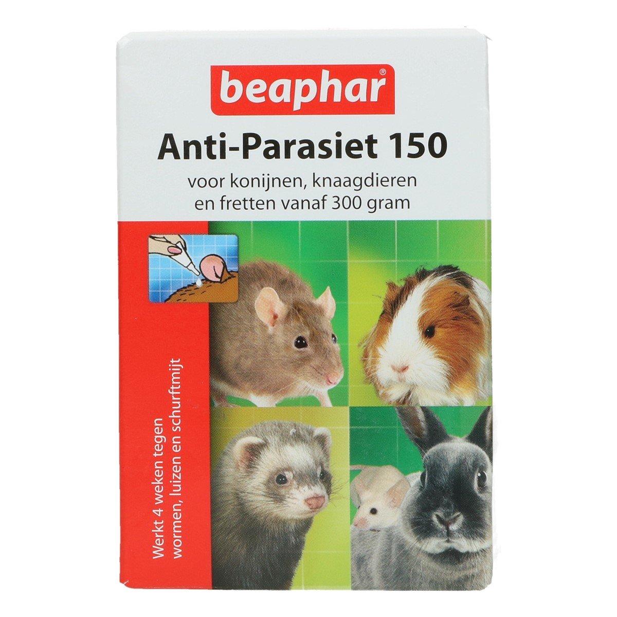 Afbeelding van Beaphar Anti Parasiet 150 knaagdier 4 pipetten