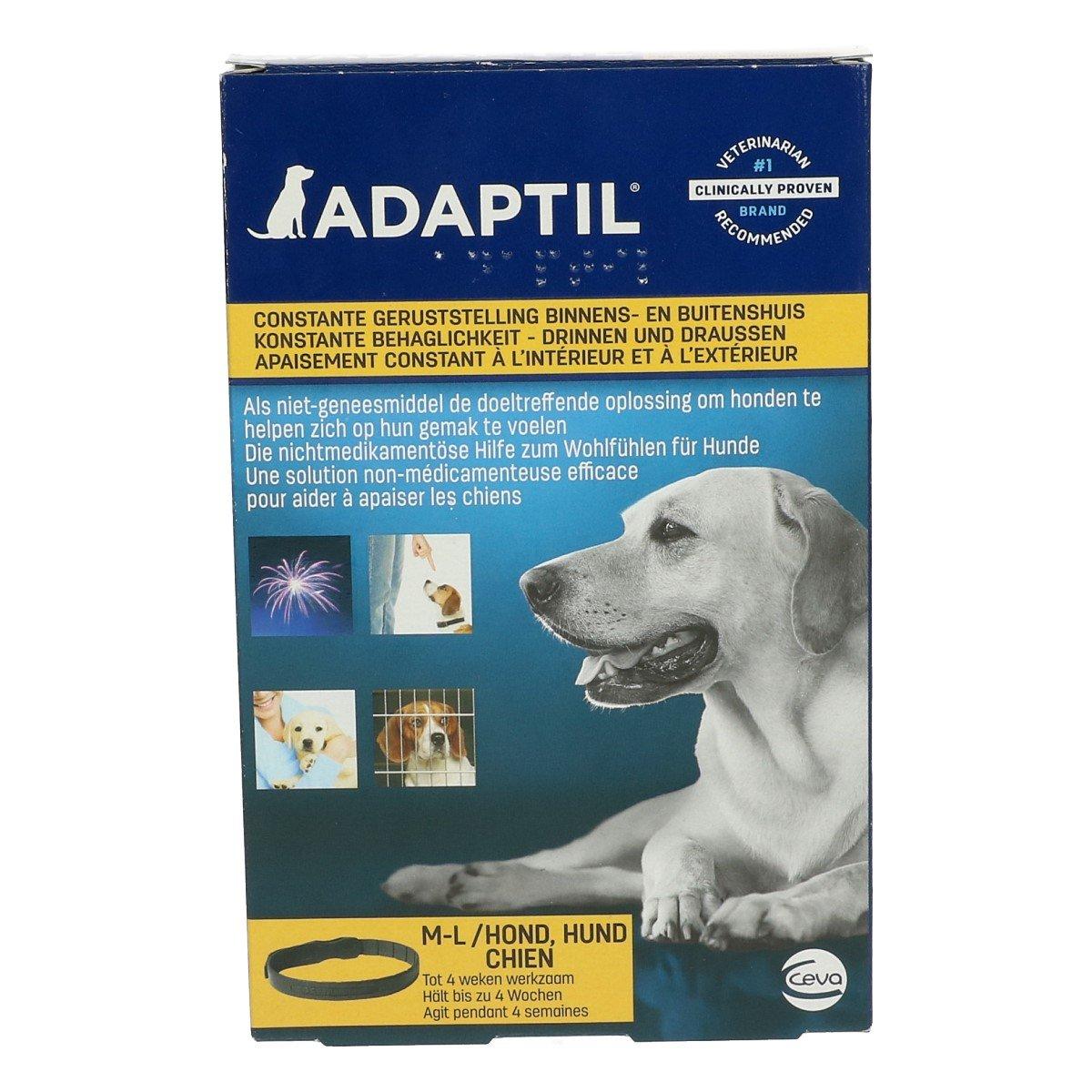 Afbeelding van Adaptil Halsband Hond M/L (nek 62,5cm) 70cm