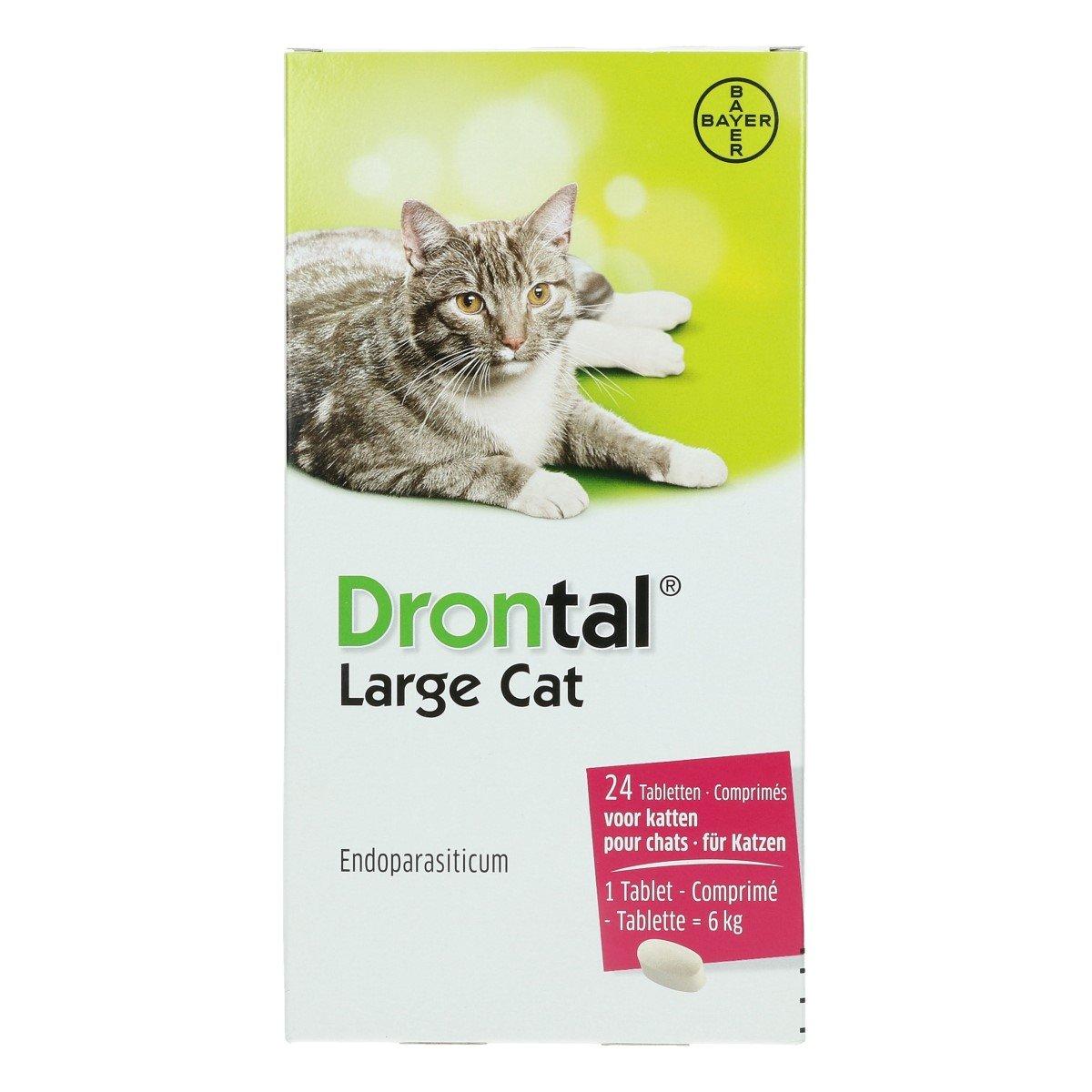 Afbeelding van Drontal Cat Large 24 Tabletten