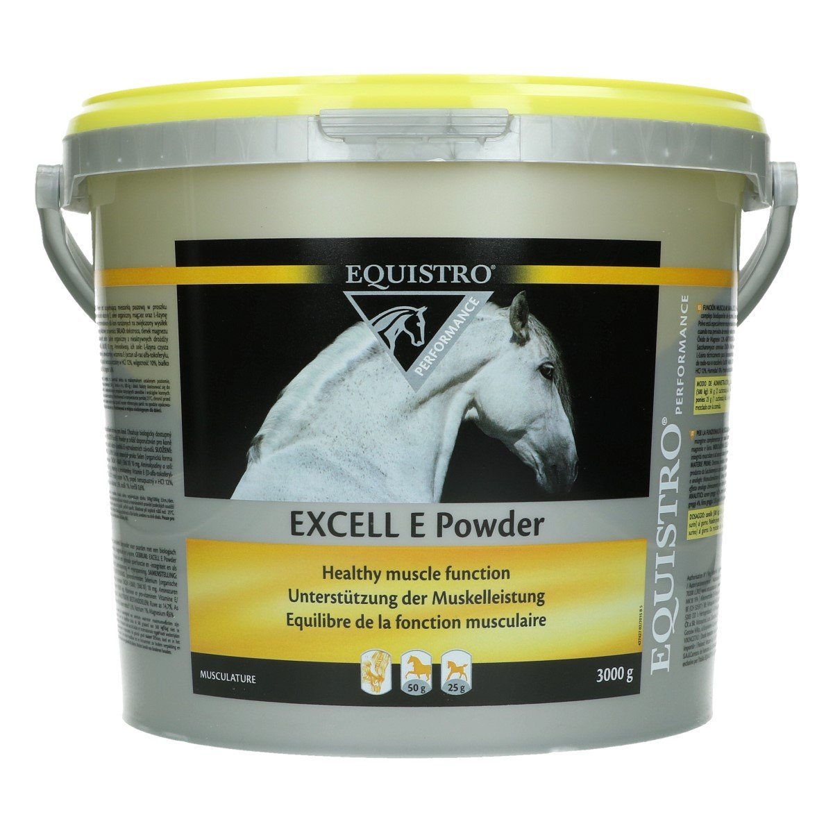Afbeelding van Equistro Excell E Powder Paard 3kg