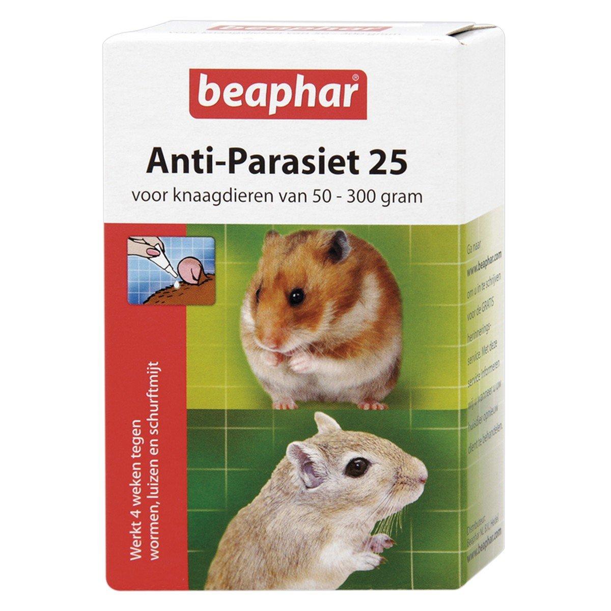 Afbeelding van Beaphar Anti Parasiet 25 knaagdier 2 pipetten