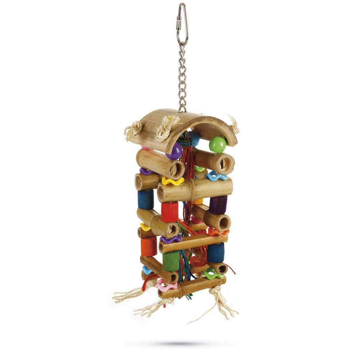 Imagem de Beeztees Bird Toy Tower 20cm