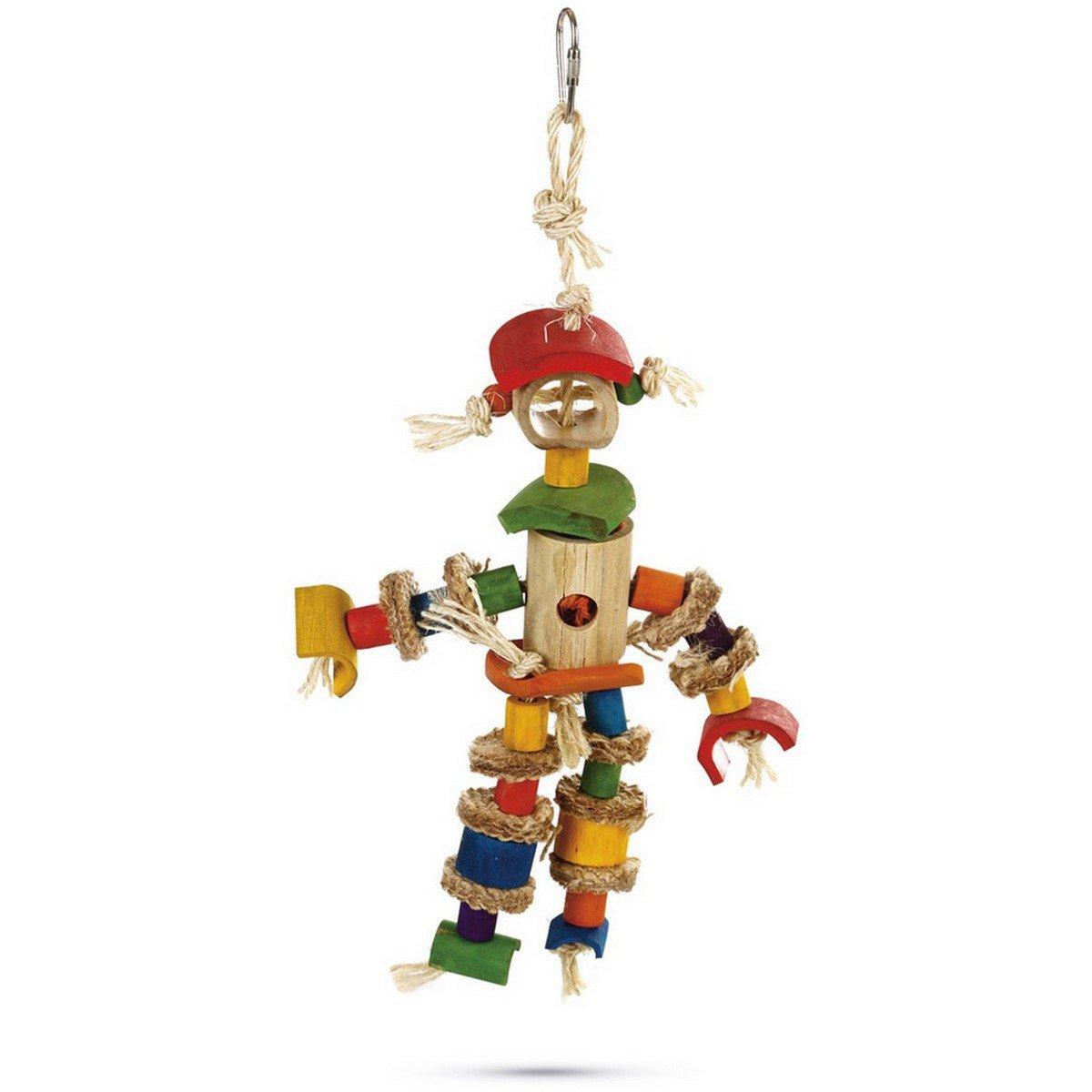 Imagem de Beeztees Scarecrow Bird Toy 25cm