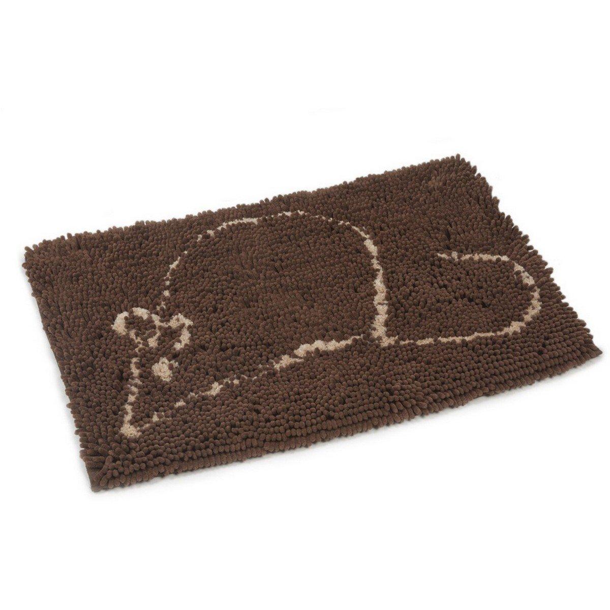Afbeelding van Dirty Cat Droogloopmat Kleur: Bruin Afmeting: 58x41cm