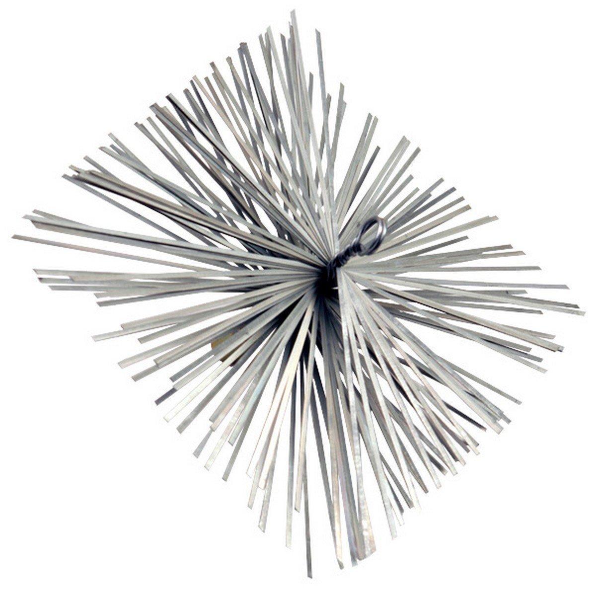 Afbeelding van Dario schoorsteenveegborstel metaal 25x25cm