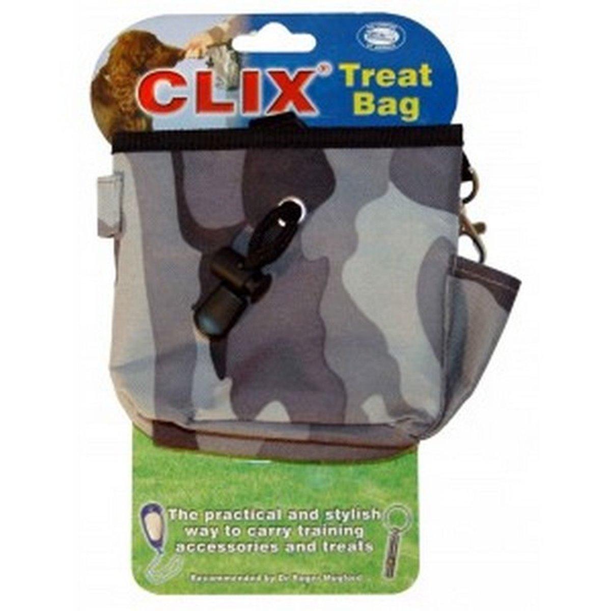 Afbeelding van Clix Beloningszakje Hond Grijs