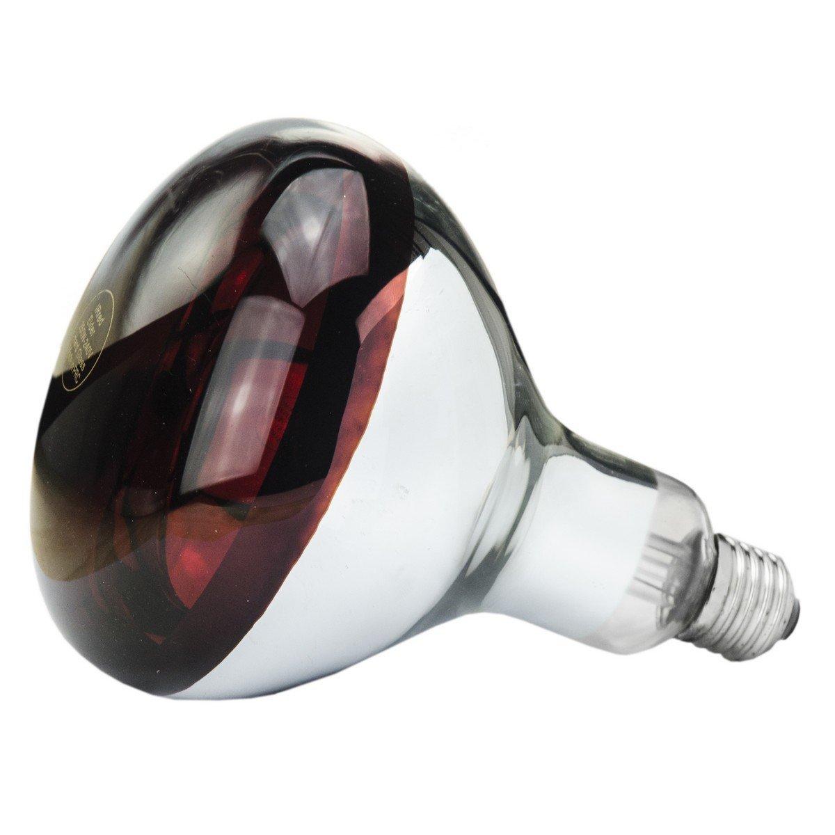 Afbeelding van Lamp 150 W/rood Hard Glas