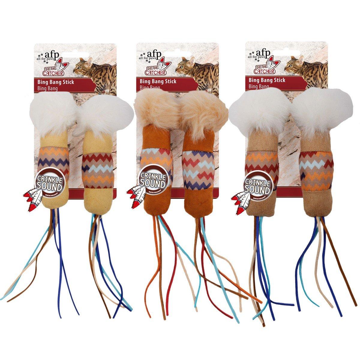 Imagem de All For Paws Dream Catcher Big Bang Stick Assorti 2pack
