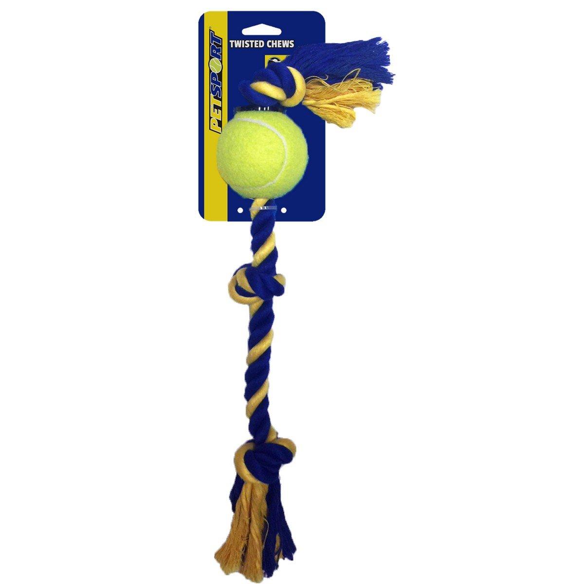 Imagem de Agradi 3 Knot Cotton Rope with Tuff Ball 6cm