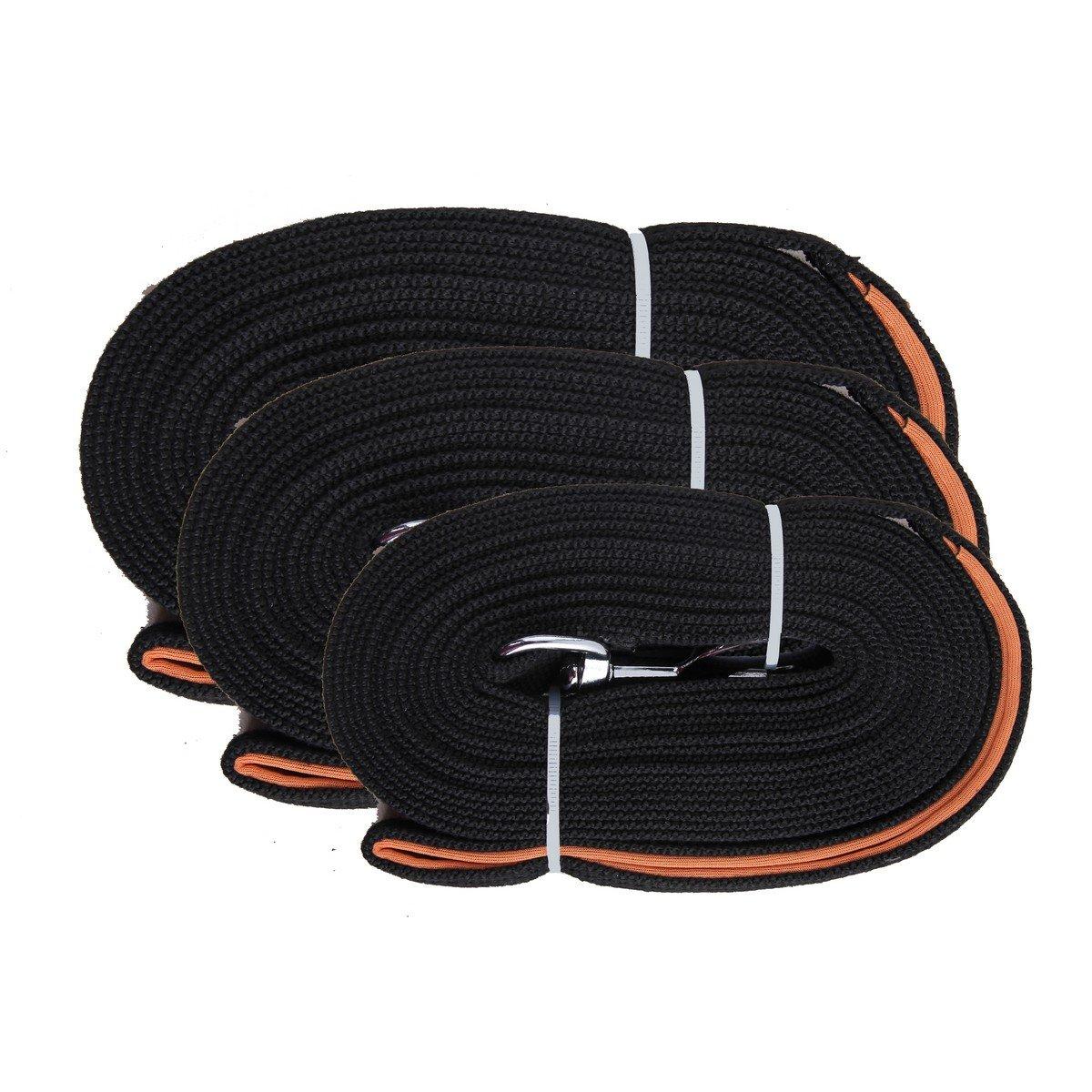 Imagem de Agradi Flat Leash with Loop 5m Black 5m