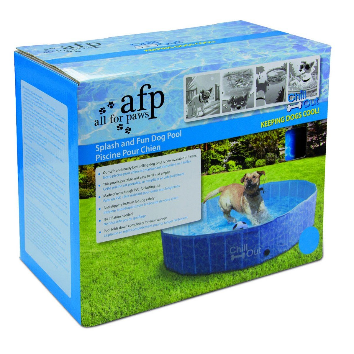 Afbeelding van AFP Chill Out Splash and fun Dog Pool M 120cm
