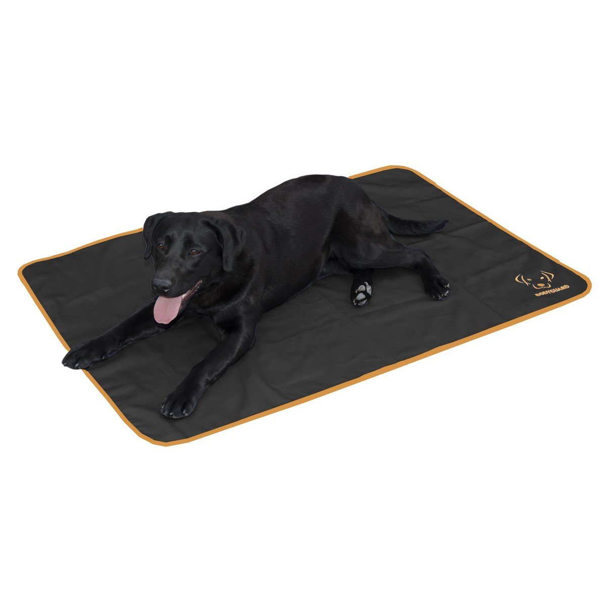 Afbeelding van Bodyguard Dog Blanket Zwart 120x80cm