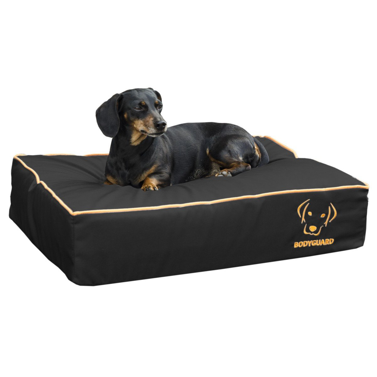 Afbeelding van Bodyguard Hondenbed Zwart 65x50cm