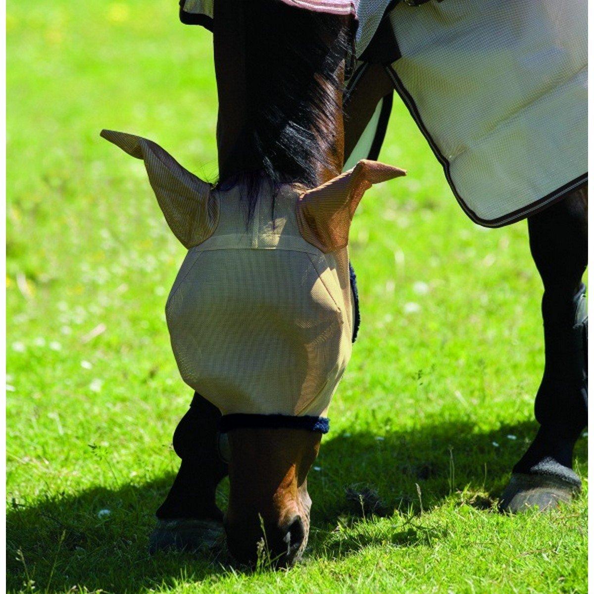 Imagem de Amigo by Horseware FlyMask Bronze/navy Cob