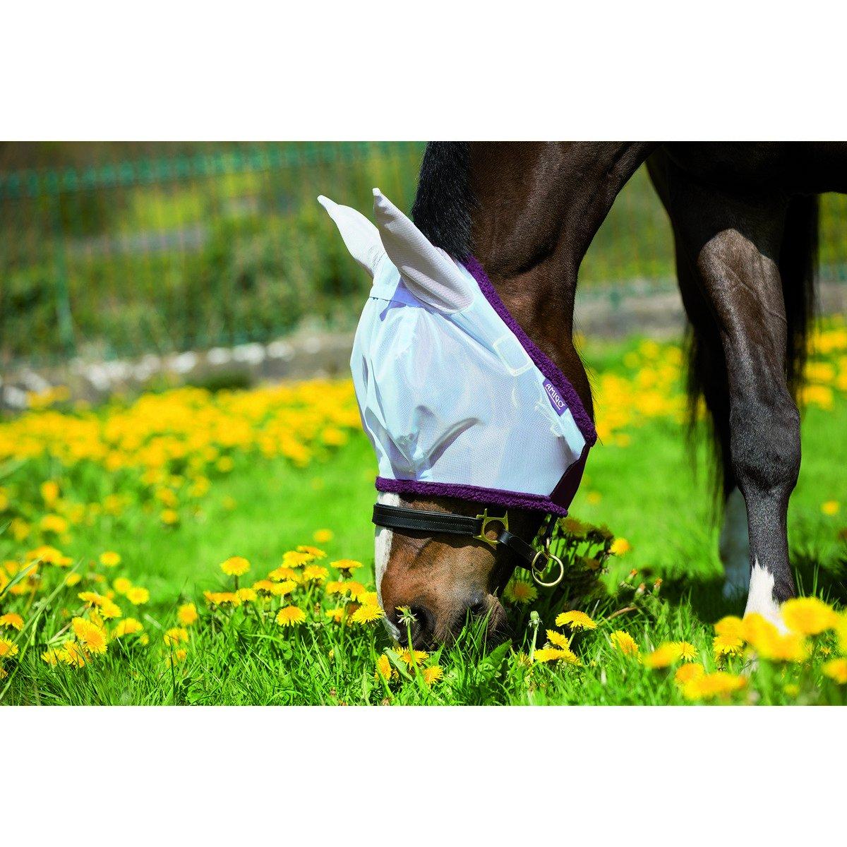 Imagem de Amigo by Horseware Amigo Finemesh FlyMask Silver purple Cob