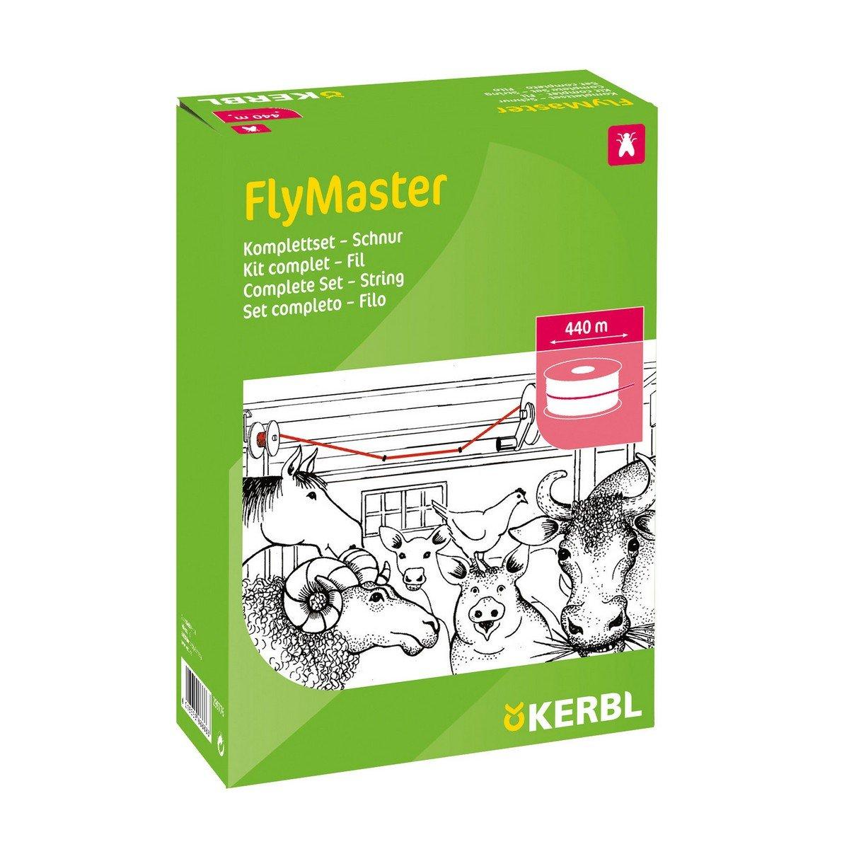 Abbildung von Kerbl Flymaster Fliegenband Komplettset 400m