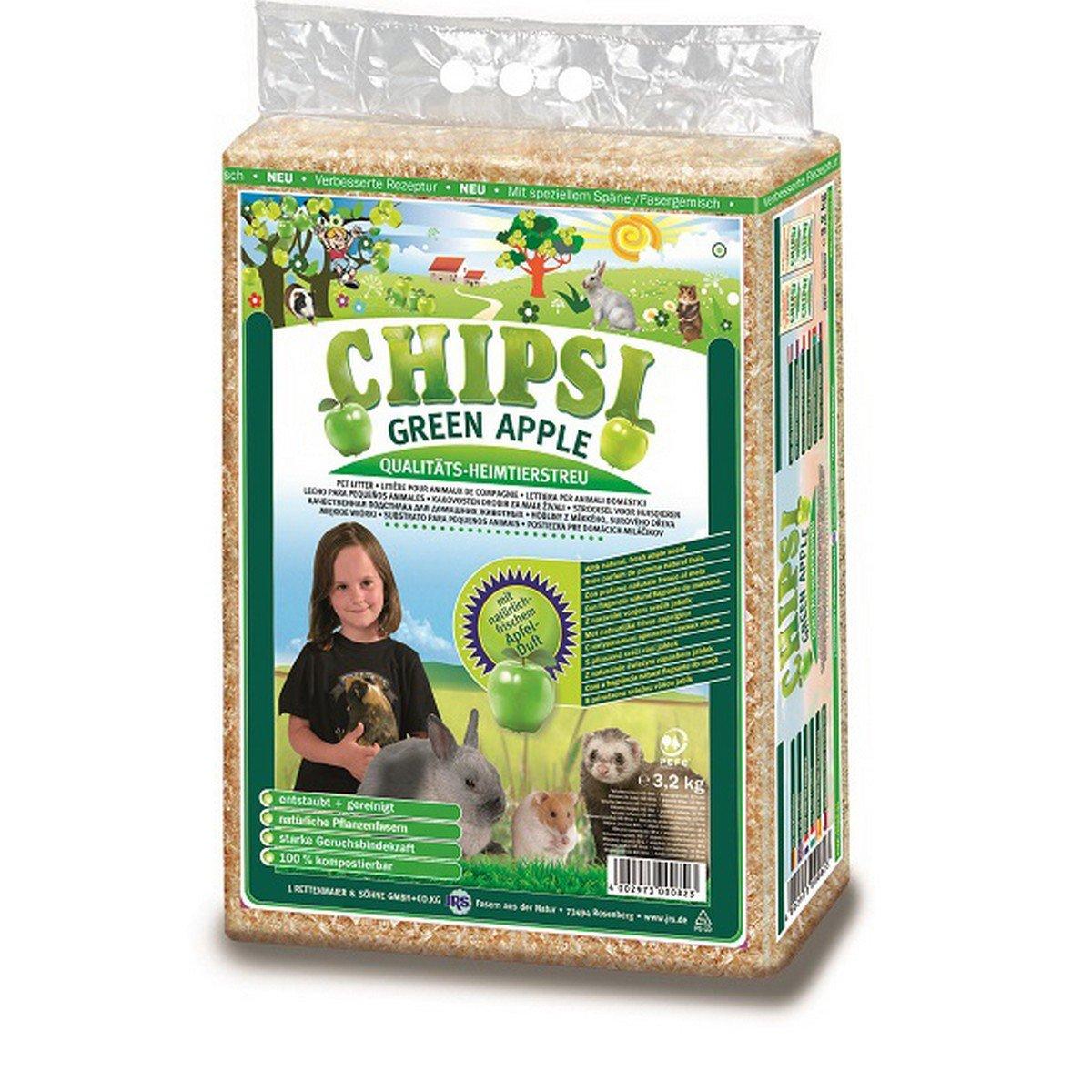 Afbeelding van Chipsi Green Apple 3,2kg