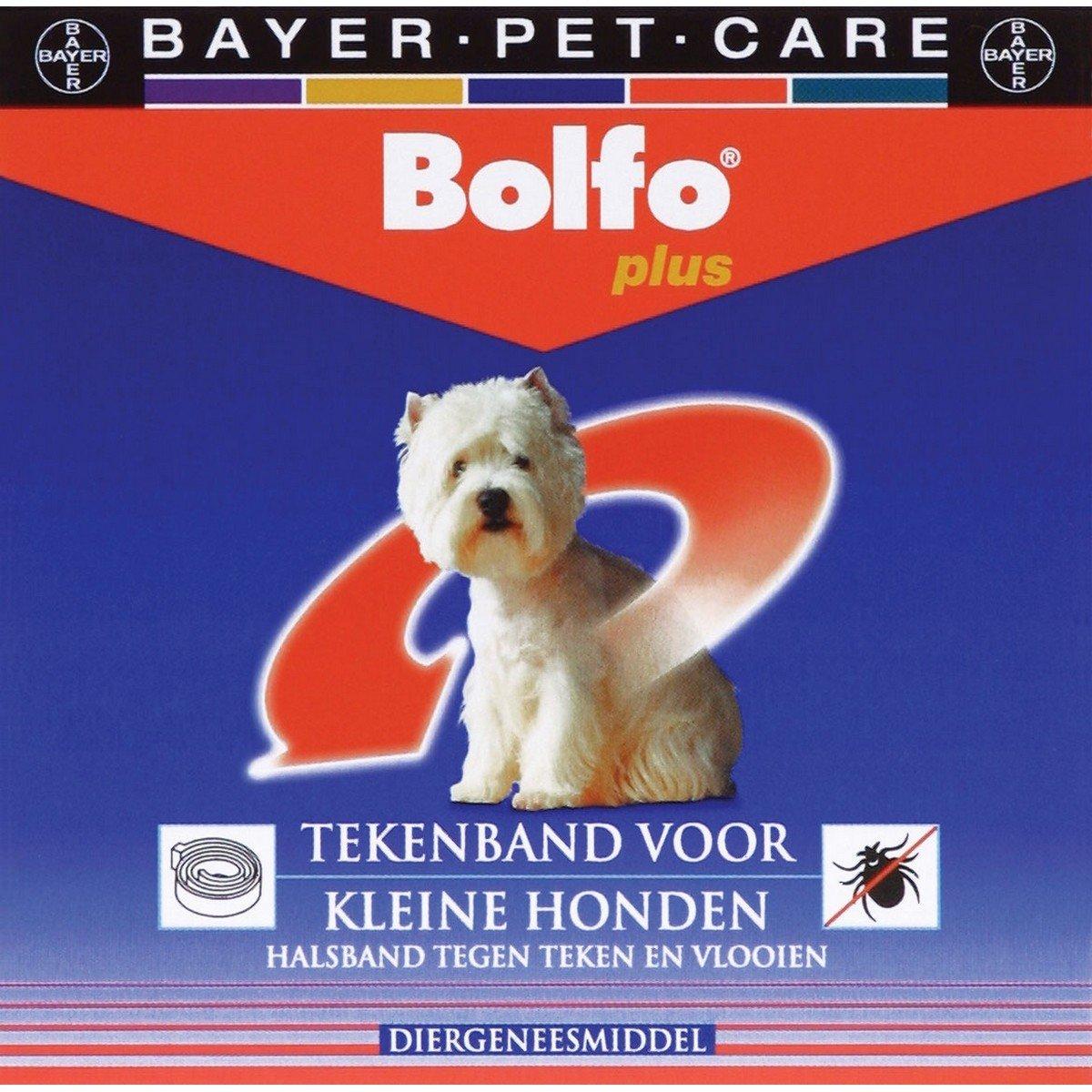 Afbeelding van Advantage H bolfo tekenband kleine hond 1 stuk