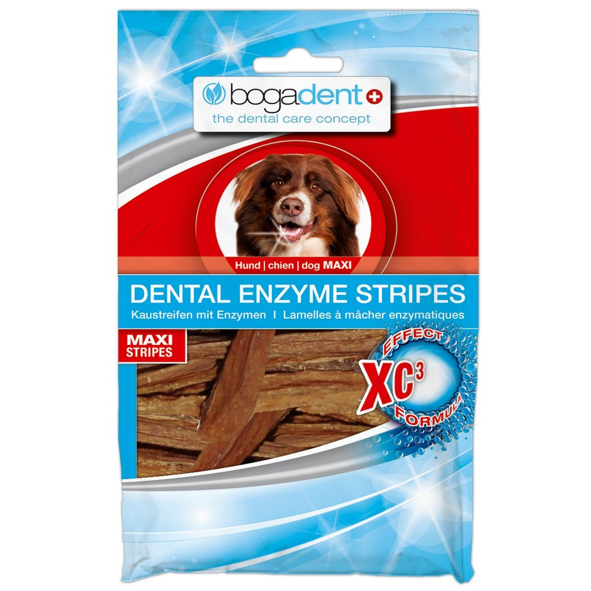 Afbeelding van Bogar Bogadent Dental Enzyme Stripes Dog Maxi 100gr