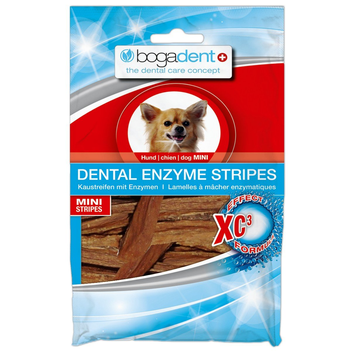 Afbeelding van Bogar Bogadent Dental Enzyme Stripes Dog Mini 100gr