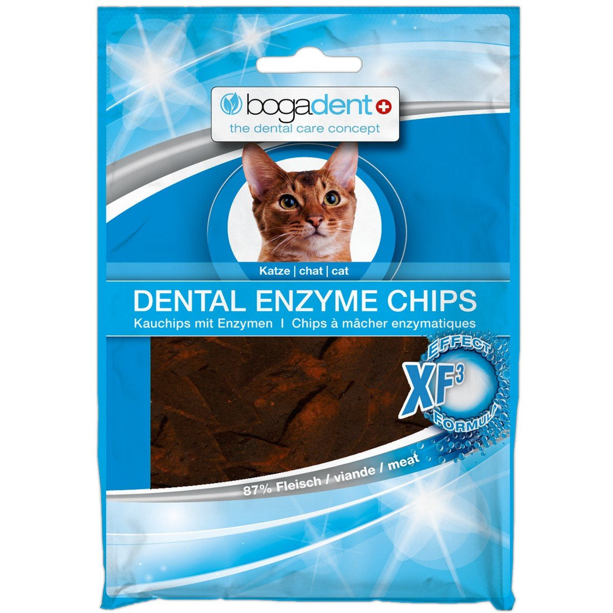 Afbeelding van Bogar Bogadent Dental Enzyme Chips Cat 50gr