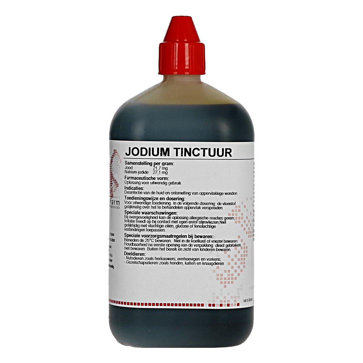 Afbeelding van Agradi Jodium Tinctuur 2 % 1 liter
