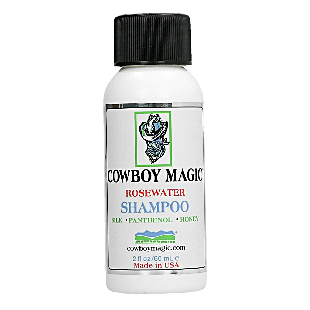 Afbeelding van Cowboy Magic Rosewater Shampoo 60ml