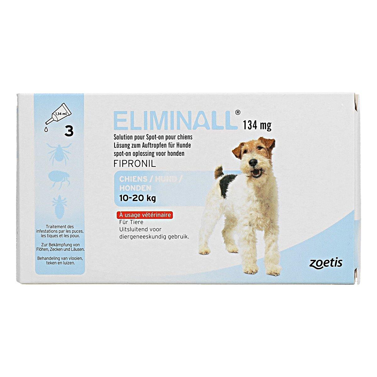 Afbeelding van Eliminall Spot on Hond M 10 20kg 3 Pipetten