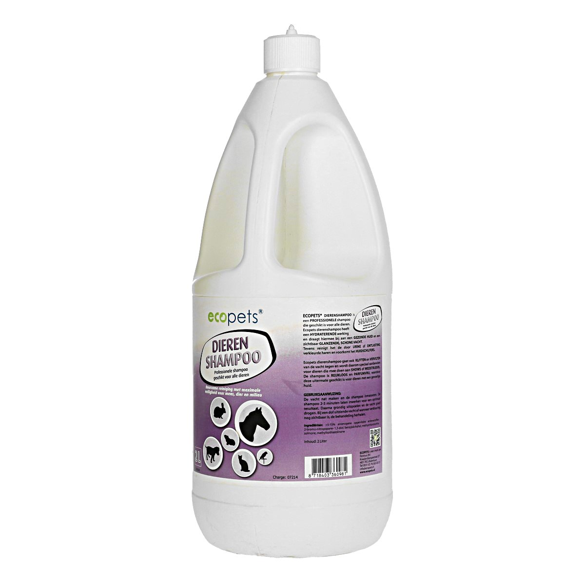 Afbeelding van Ecopets Shampoo 2L