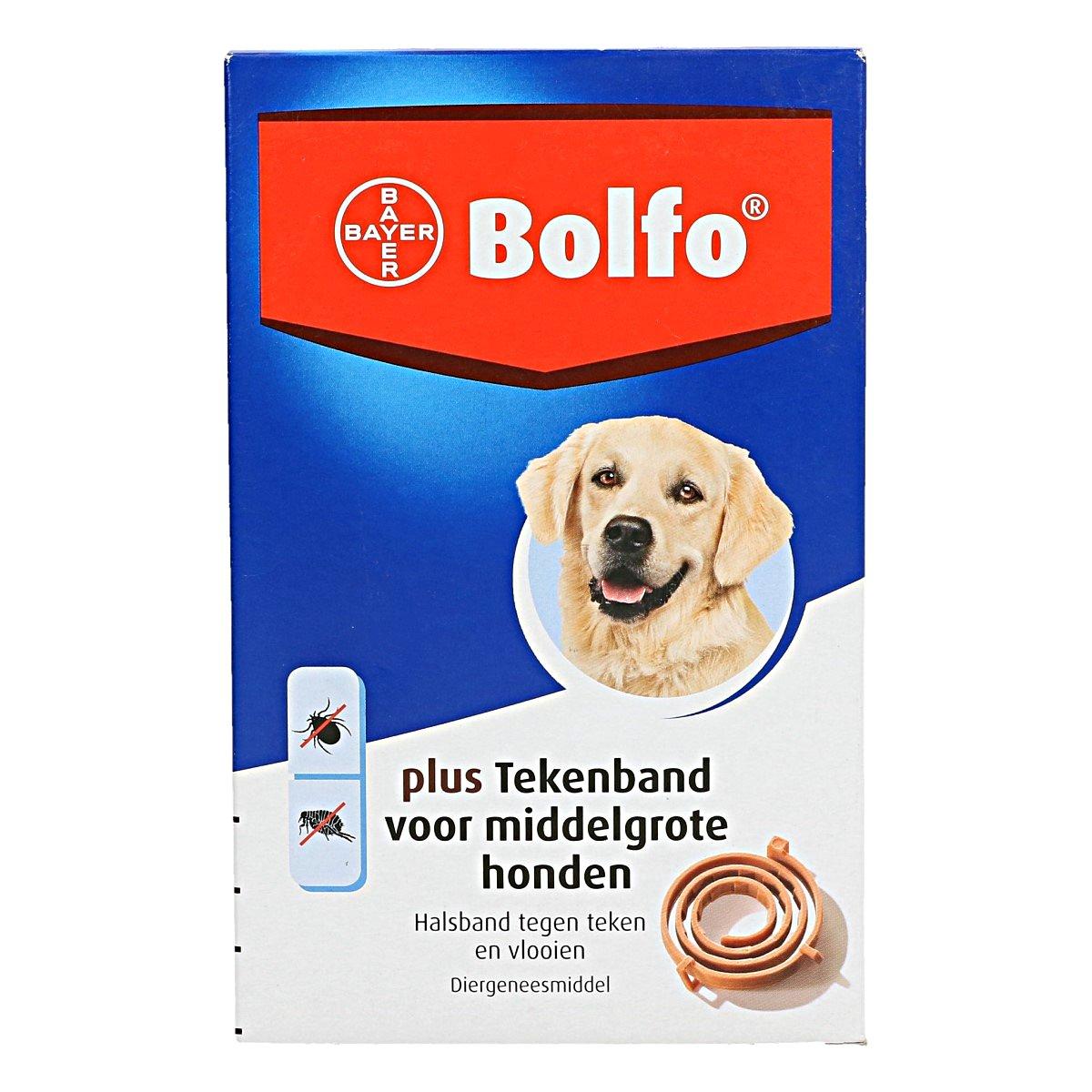 Afbeelding van Advantage H bolfo tekenband middelgrote hond 1 stuk