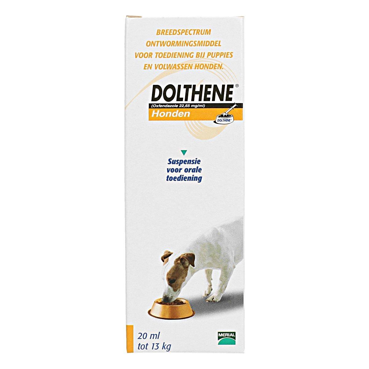 Afbeelding van Dolthene Ontwormingsmiddel Orale Suspensie Hond 20ml