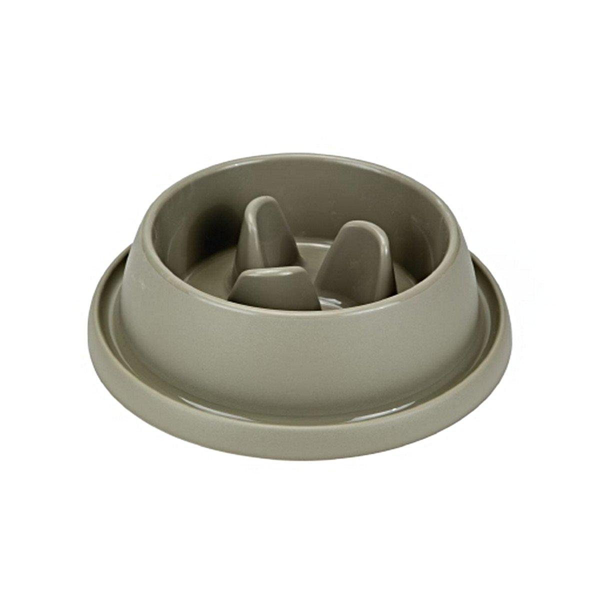 Imagem de Beeztees Anti Scoff Bowl Wico Plastic mocha 31,5cm, 9cm,2l