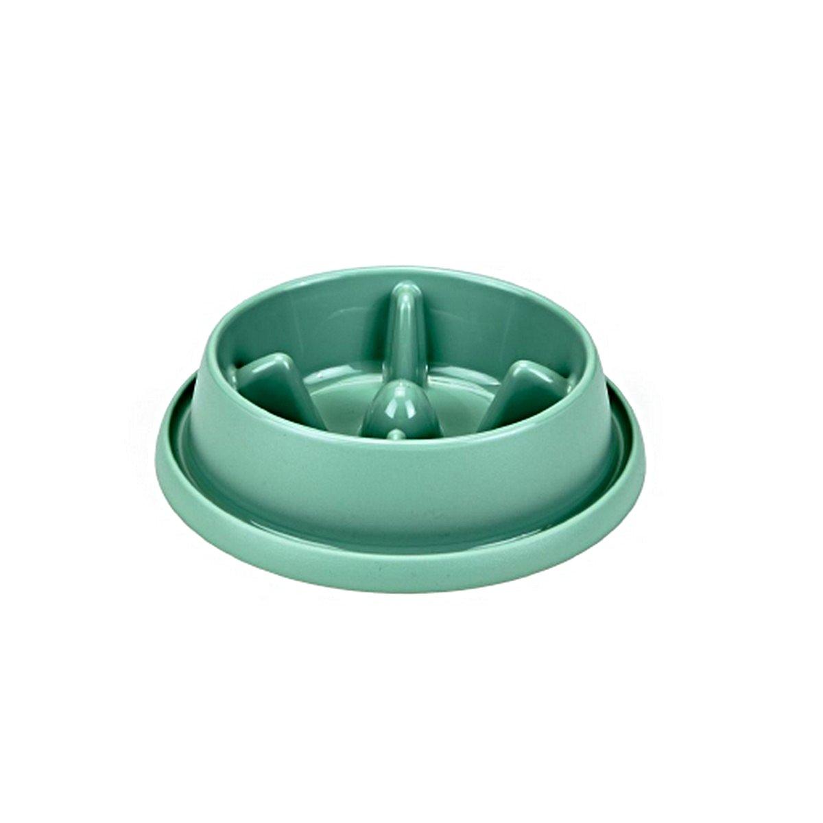Imagem de Beeztees Anti Scoff Bowl Morien Plastic Lightgreen 0,95l