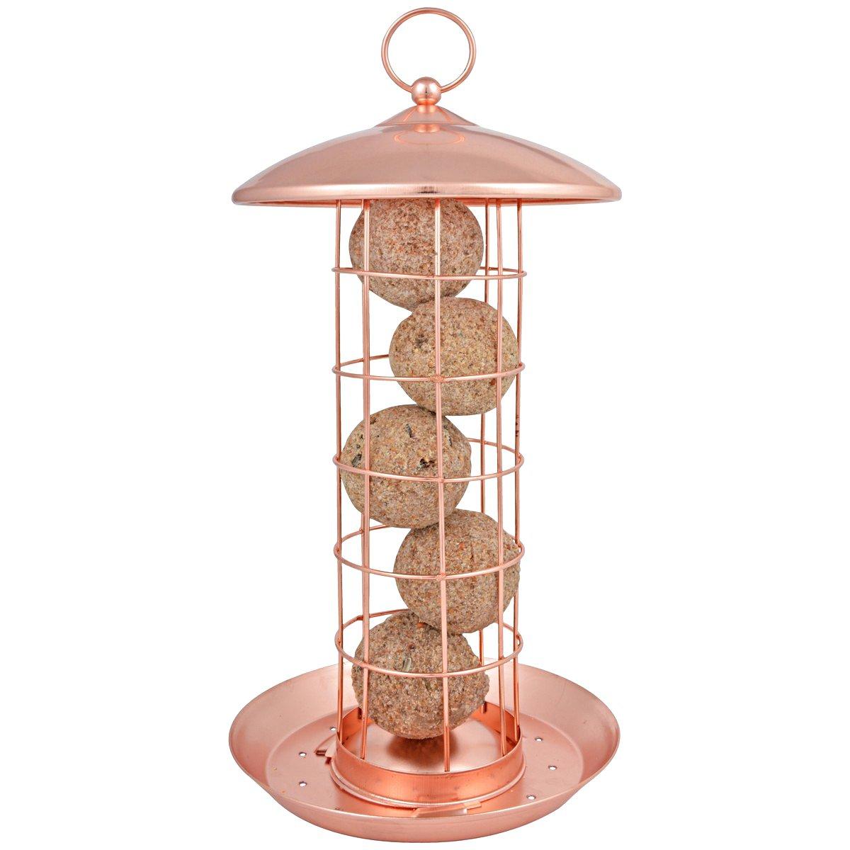 Afbeelding van Best for Birds Koperen vetbollensilo