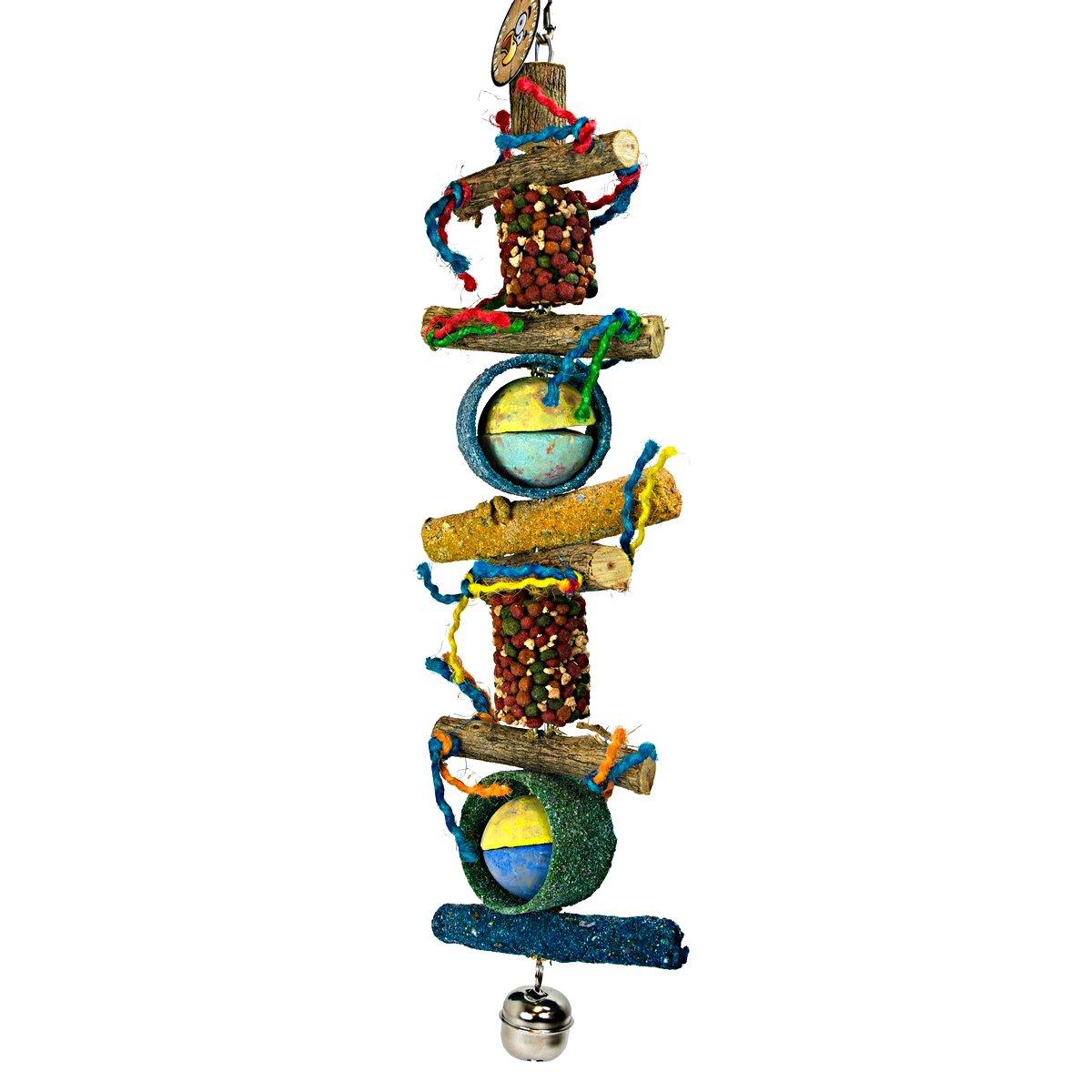 Afbeelding van Birdeeez Jumbo Macaw Parrot Rope Toy