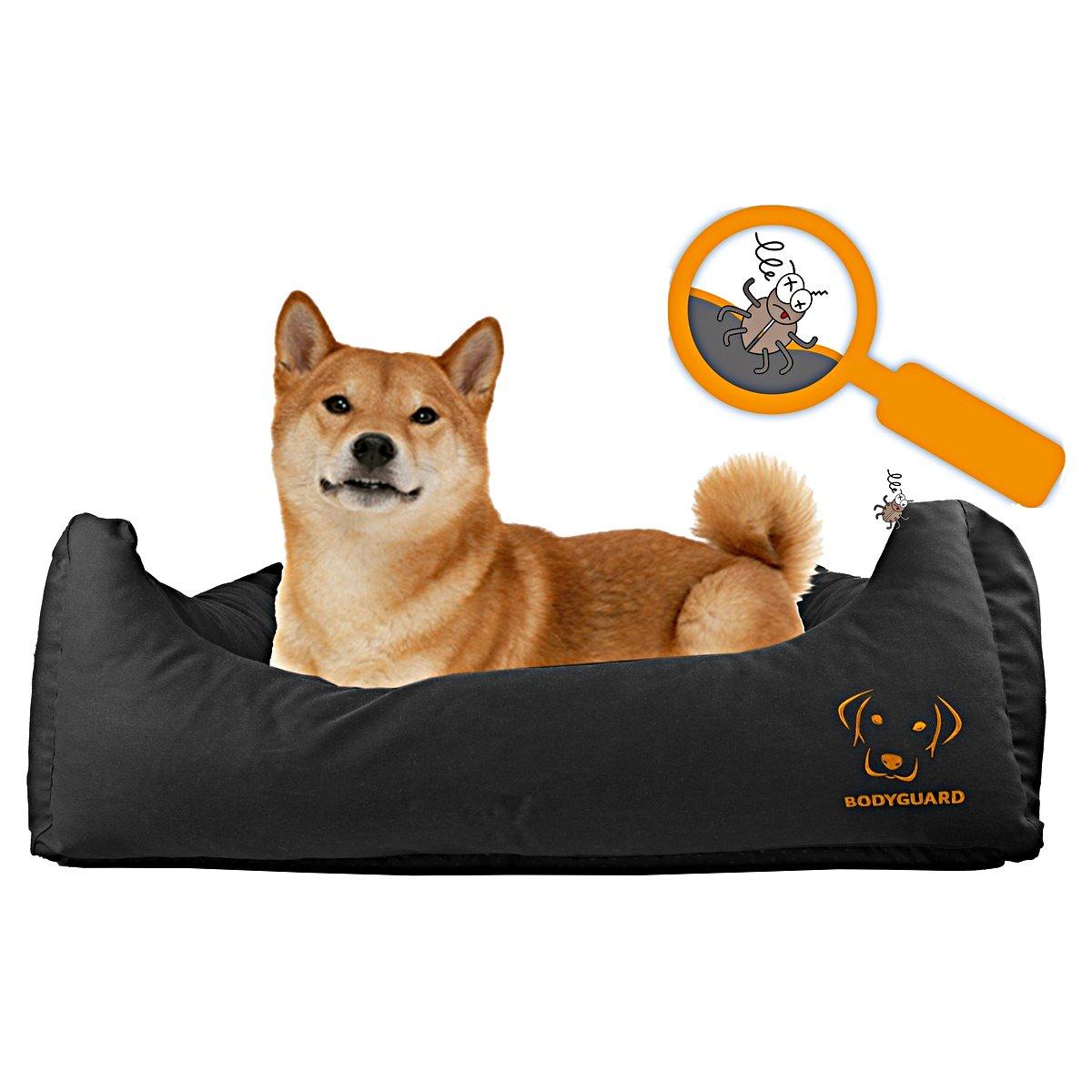 Afbeelding van Bodyguard Sofa Bed Zwart M 80x65cm