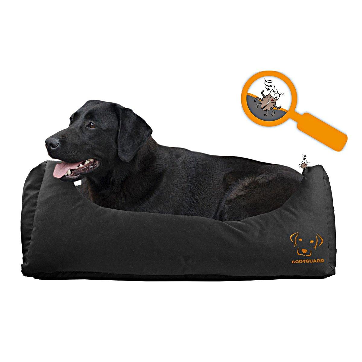 Afbeelding van Bodyguard Sofa Bed Zwart L 105x80cm