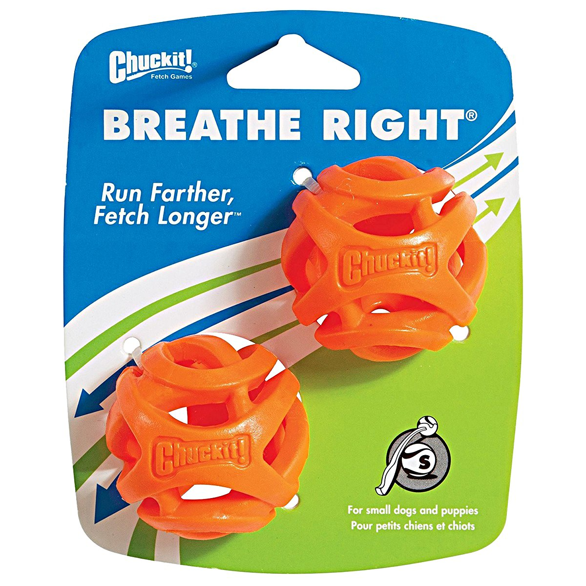 Afbeelding van Chuckit Breathe Right Fetch Ball Medium