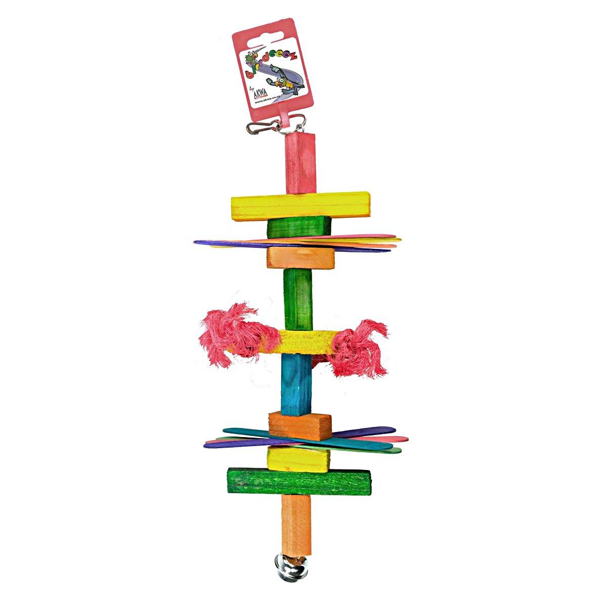 Afbeelding van Birrdeeez Parakeet Toy Wood