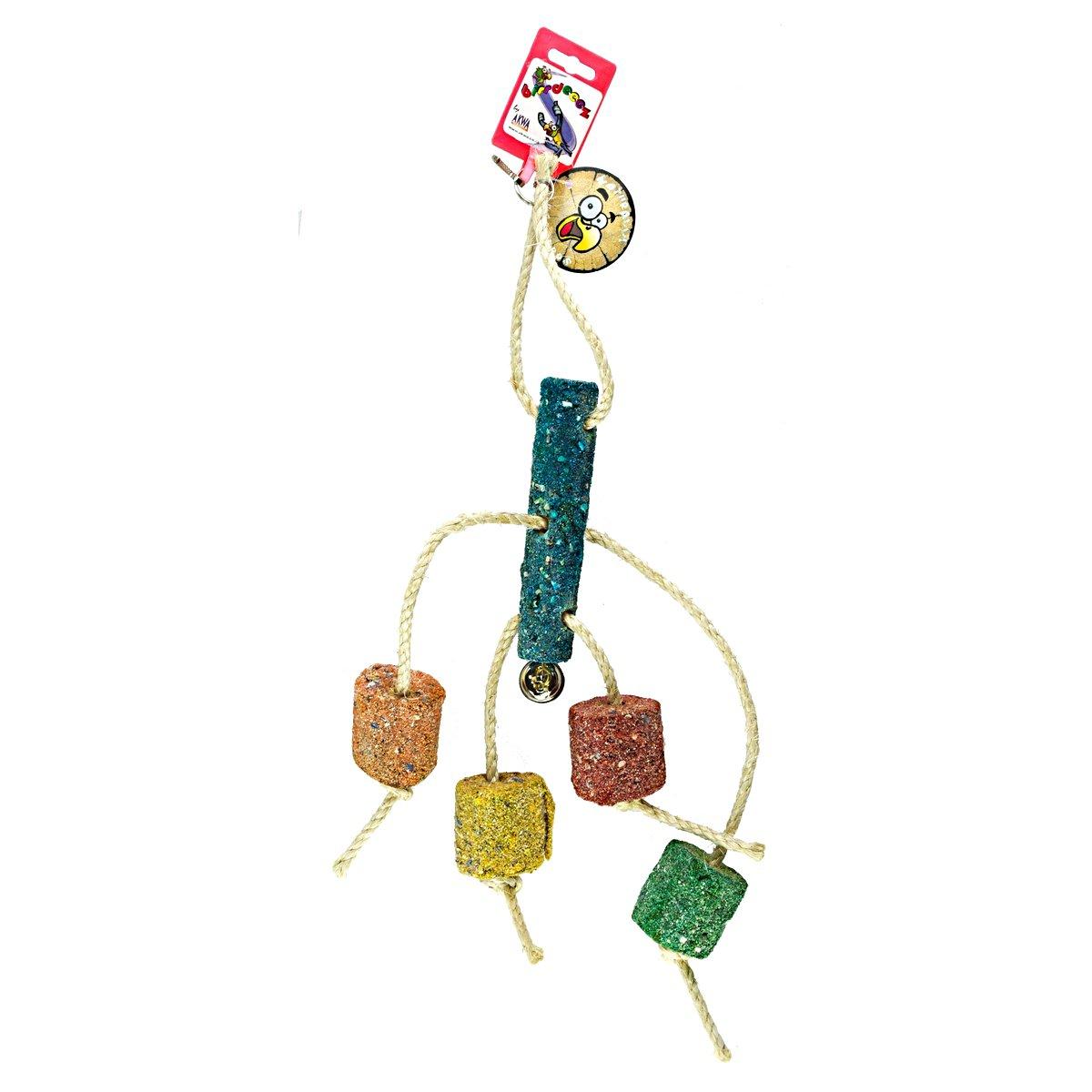 Afbeelding van Birrdeeez Coral Ball & Sisal Cluster Parrot Toy