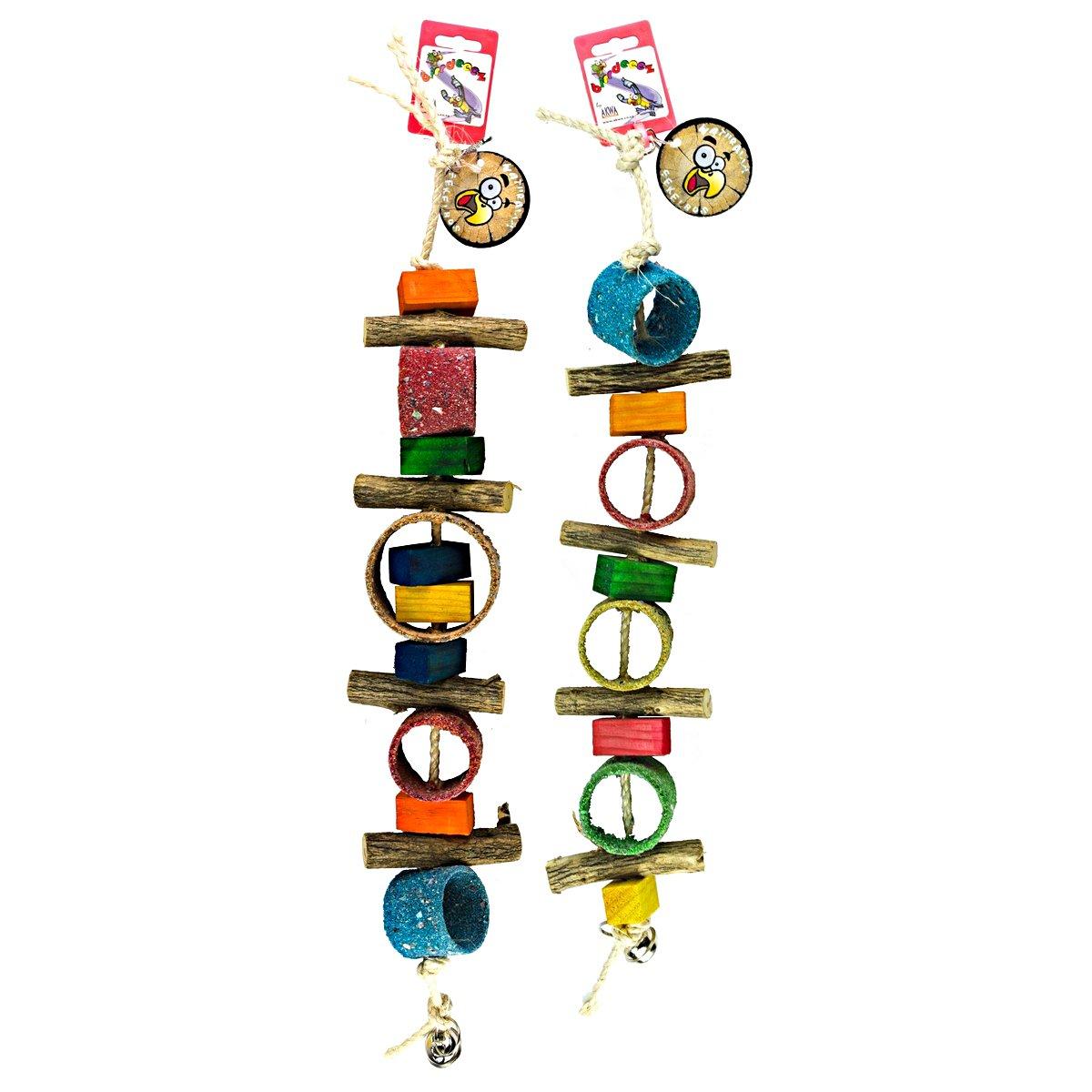 Afbeelding van Birrdeeez Jungle Rings Parrot Toy
